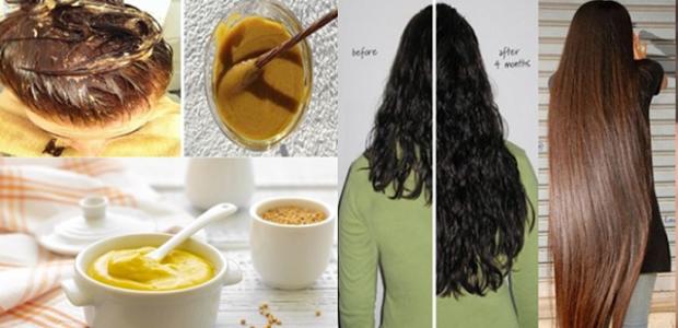 La máscara para los cabellos con el aceite de la amapola