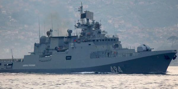 La fragata rusa Amirante Grigoróvich, equipada con misilesteledirigidos,está en camino […]