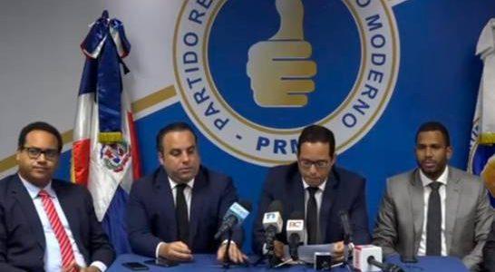 La Dirección Legal del Partido Revolucionario Moderno (PRM) informó que […]
