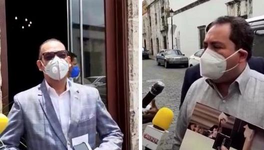 Los funcionarios del Gobierno entrante, Deligne Ascensión y Mario Lama,se […]