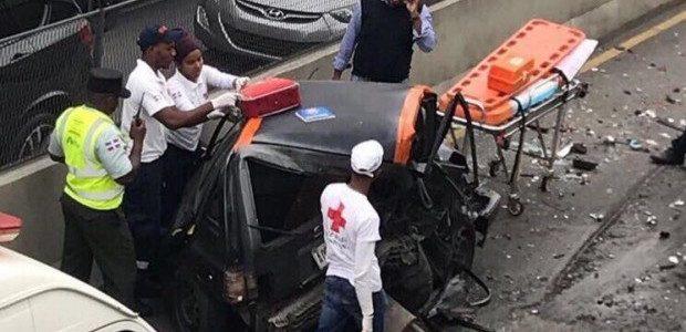 SANTO DOMINGO.- Seis vehículos chocaron la mañana de este jueves […]