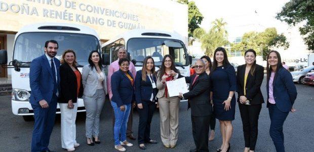 Spread the love El Consejo Nacional para la Niñez y la Adolescencia (CONANI) recibió el pasado viernes 26 octubre la donación de dos (2) autobuses por parte del Ministerio Administrativo […]