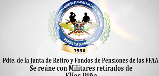 Spread the love Por Lic. Felix Matos El Mayor General Carlos A. Fernández Onofre, ERD., presidente de esta @juntaderetirord, realizó un encuentro con los Militares Retirados, viudas, viudos, tutores y […]