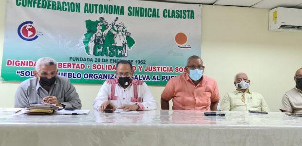 Spread the love La Confederación Autónoma Sindical Clasista (CASC) conjuntamente con la Confederación Nacional de Trabajadores de Industrias (CONATI), reafirmaron su llamado a que se respete el derecho de los […]